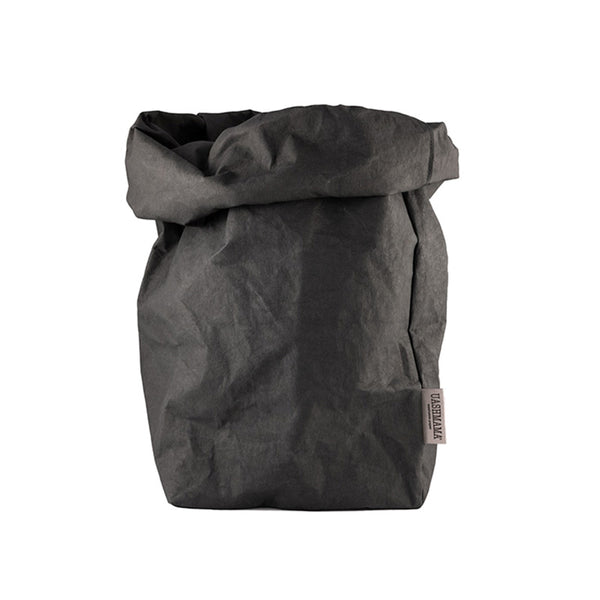 Uashmama washable paper bag black