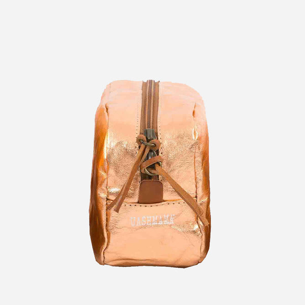 Uashmama Beauty Case Beauty Case washable paper Copper