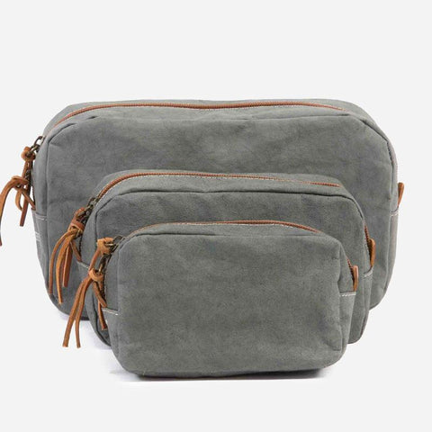 Uashmama Beauty Case washable paper Dark Grey
