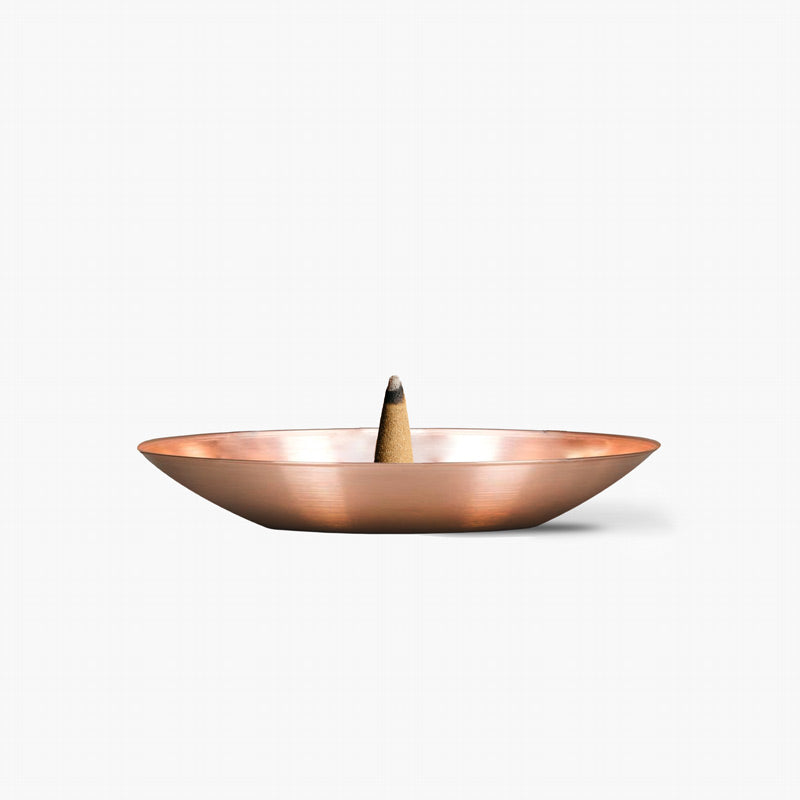 Haeckels copper incense burner