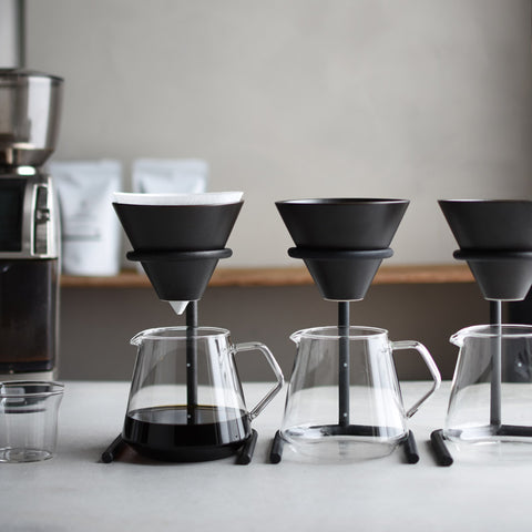 Kinto Slow Coffee Brewer Set Black