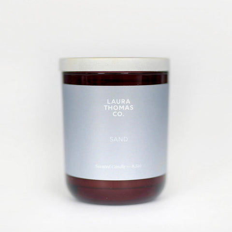 Laura Thomas Co Sand Soy Candle