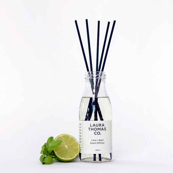 Lime & Basil Scent Diffuser | Laura Thomas Co
