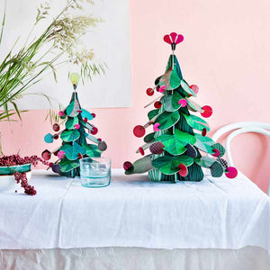 Studio Roof Christmas Tree table decoration in small and large