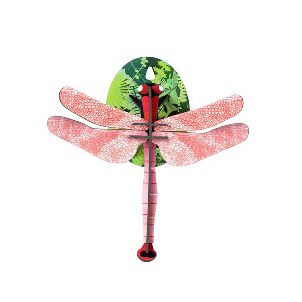 Studio Roof Pink Dragonfly Wall Decoration