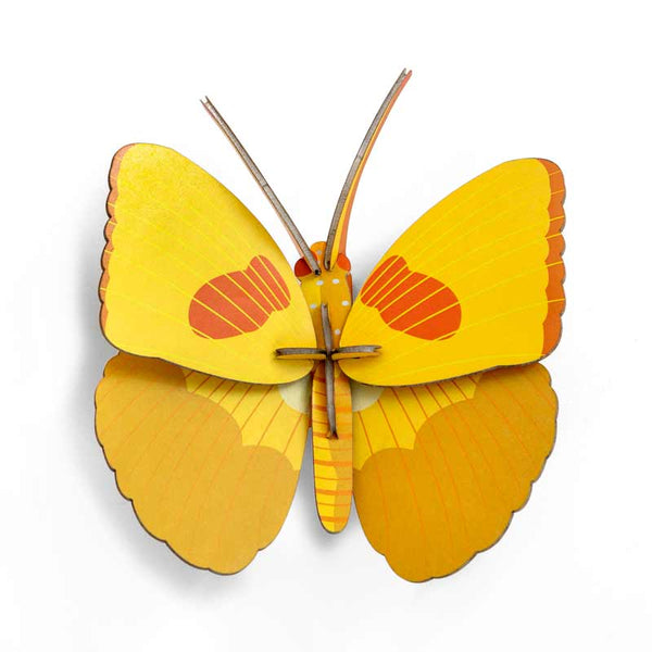 Studio Roof | Yellow Butterfly Wall Decoration