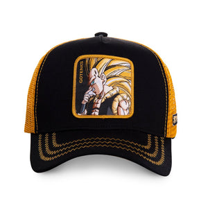 Dragon Ball Z Casquette Trucker Gotenks noire Eighteen