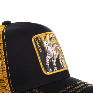 Dragon Ball Z Casquette Trucker Gotenks noire Eighteen Clothing