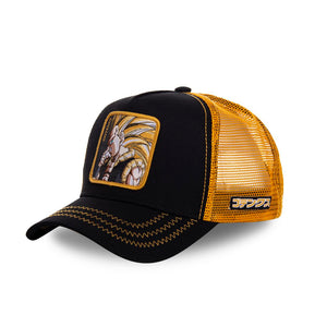 Dragon Ball Z Casquette Trucker Gotenks noire Eighteen Clothing 18