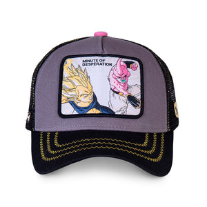 Dragon Ball Z Casquette Majin Végéta vs Buu Eighteen 18