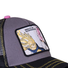 Dragon Ball Z Casquette Majin Végéta vs Buu Eighteen