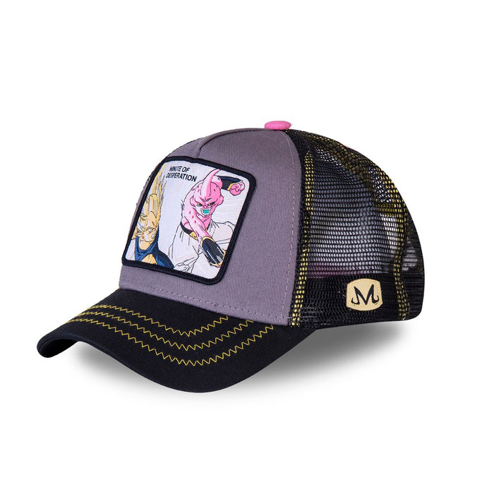 Dragon Ball Z Casquette Majin Végéta vs Buu Eighteen Clothing