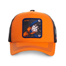 Dragon Ball Z Casquette Goten orange Eighteen
