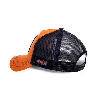 Dragon Ball Z Casquette Goten orange Eighteen 18