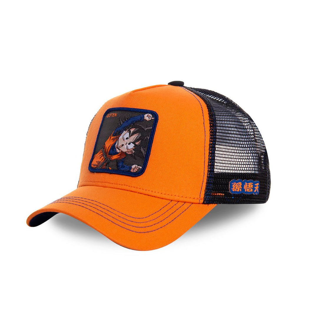 Dragon Ball Z Casquette Goten orange Eighteen Clothing 18