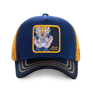 Dragon Ball Z Casquette Majin Végéta bleue Eighteen 18