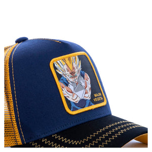 Dragon Ball Z Casquette Majin Végéta bleue Eighteen Clothing