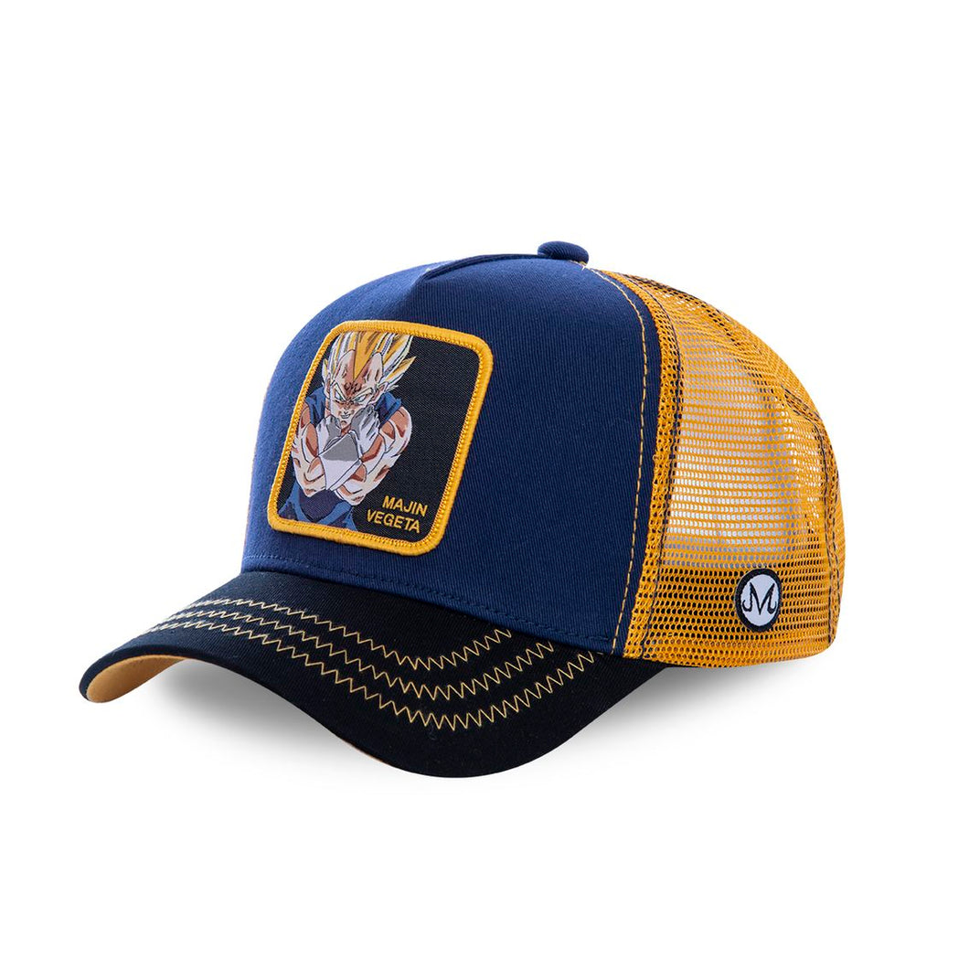 Dragon Ball Z Casquette Majin Végéta bleue Eighteen Clothing 18