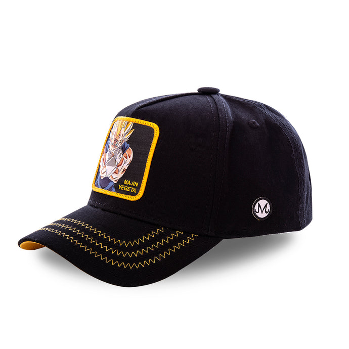 Dragon Ball Z Casquette Majin Végéta noire Eighteen Clothing