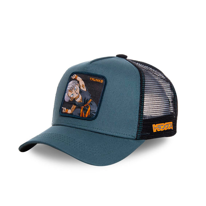 Dragon Ball Z Casquette Trunks grise Eighteen Clothing 18