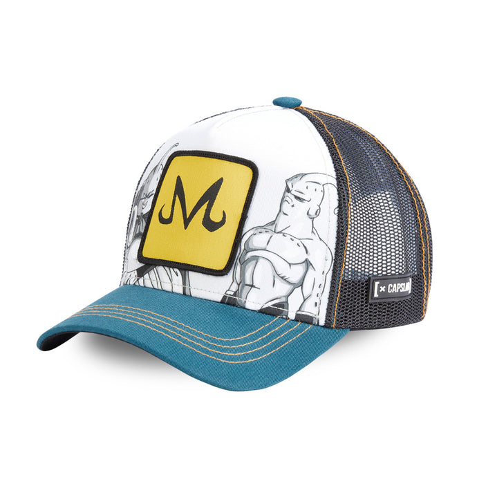 Dragon Ball Z Casquette trucker Majin Buu eighteen