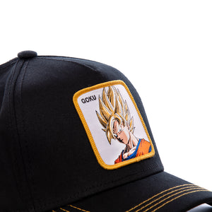 Dragon Ball Z Casquette San Goku noir eighteen clothing 18