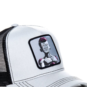 Dragon Ball Z Casquette Trucker Freezer gris/noir eighteen clothing