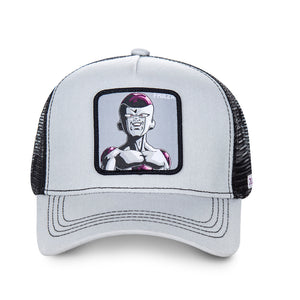 Dragon Ball Z Casquette Trucker Freezer gris/noir Eighteen Clothing 18