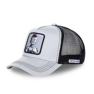 Dragon Ball Z Casquette Trucker Freezer gris/noir Eighteen 18