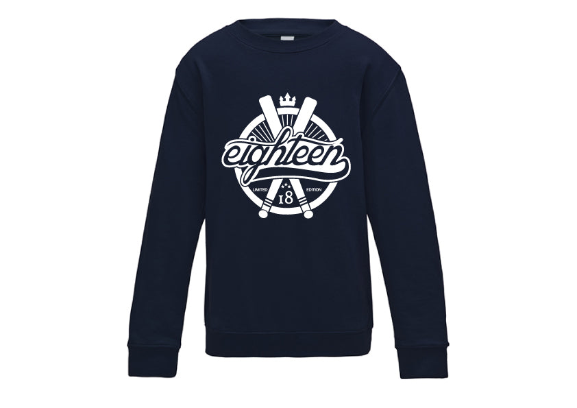 Sweat / Hoodies Eighteen baseball bleu marine