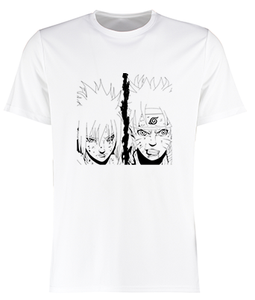 t shirt naruto shippuden avec Sasuke eighteen clothing 18