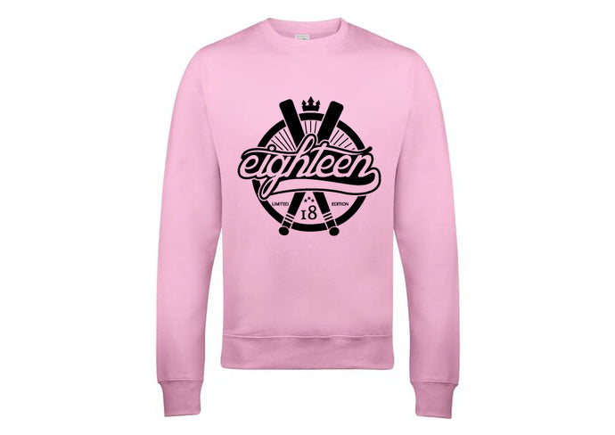 Sweat / Hoodies Eighteen baseball rose
