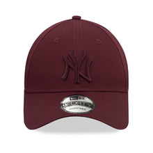 Casquette 9Forty bordeaux New York Yankees ajustable eighteen clothing