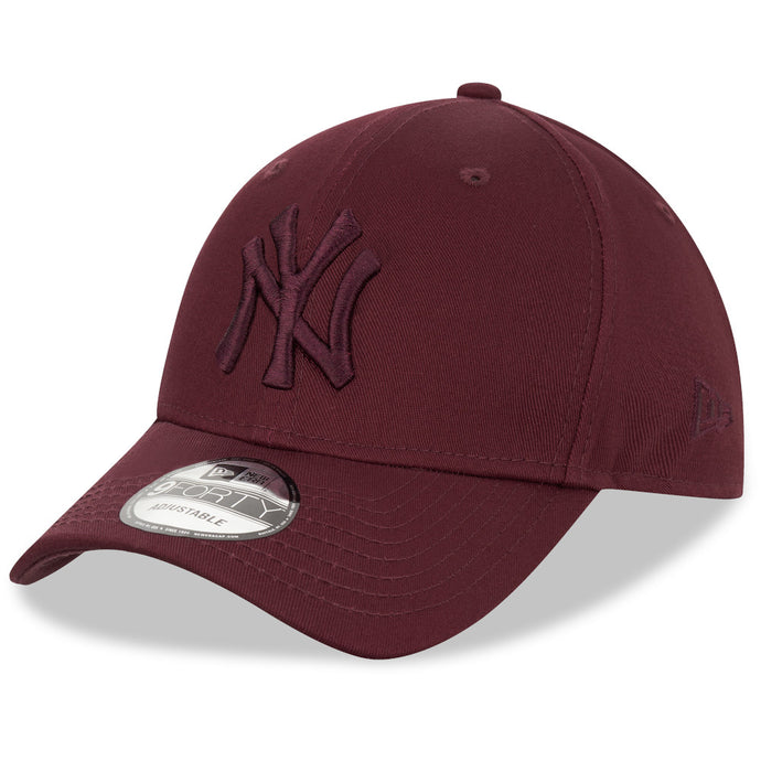 Casquette 9Forty bordeaux New York Yankees ajustable eighteen