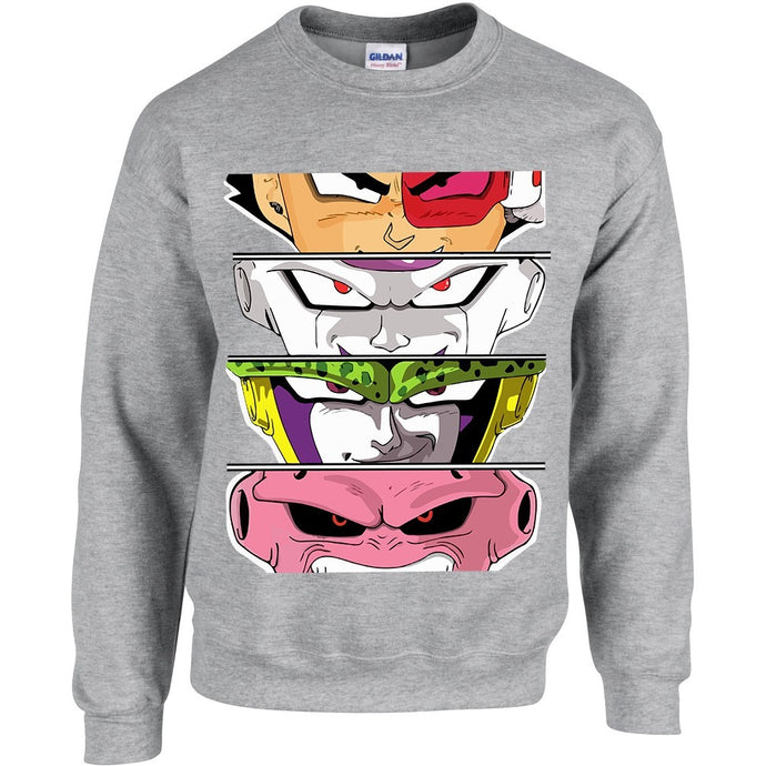sweat shirt Dragon Ball Z Eighteen clothing 18