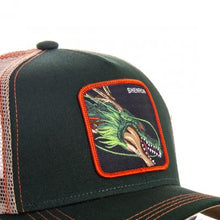 Dragon Ball Z Casquette trucker Shenron verte eighteenclothing