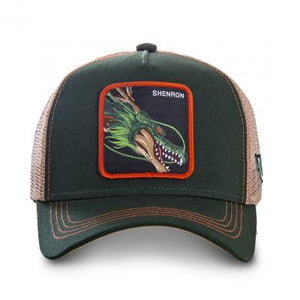 Dragon Ball Z Casquette trucker Shenron verte eighteen18