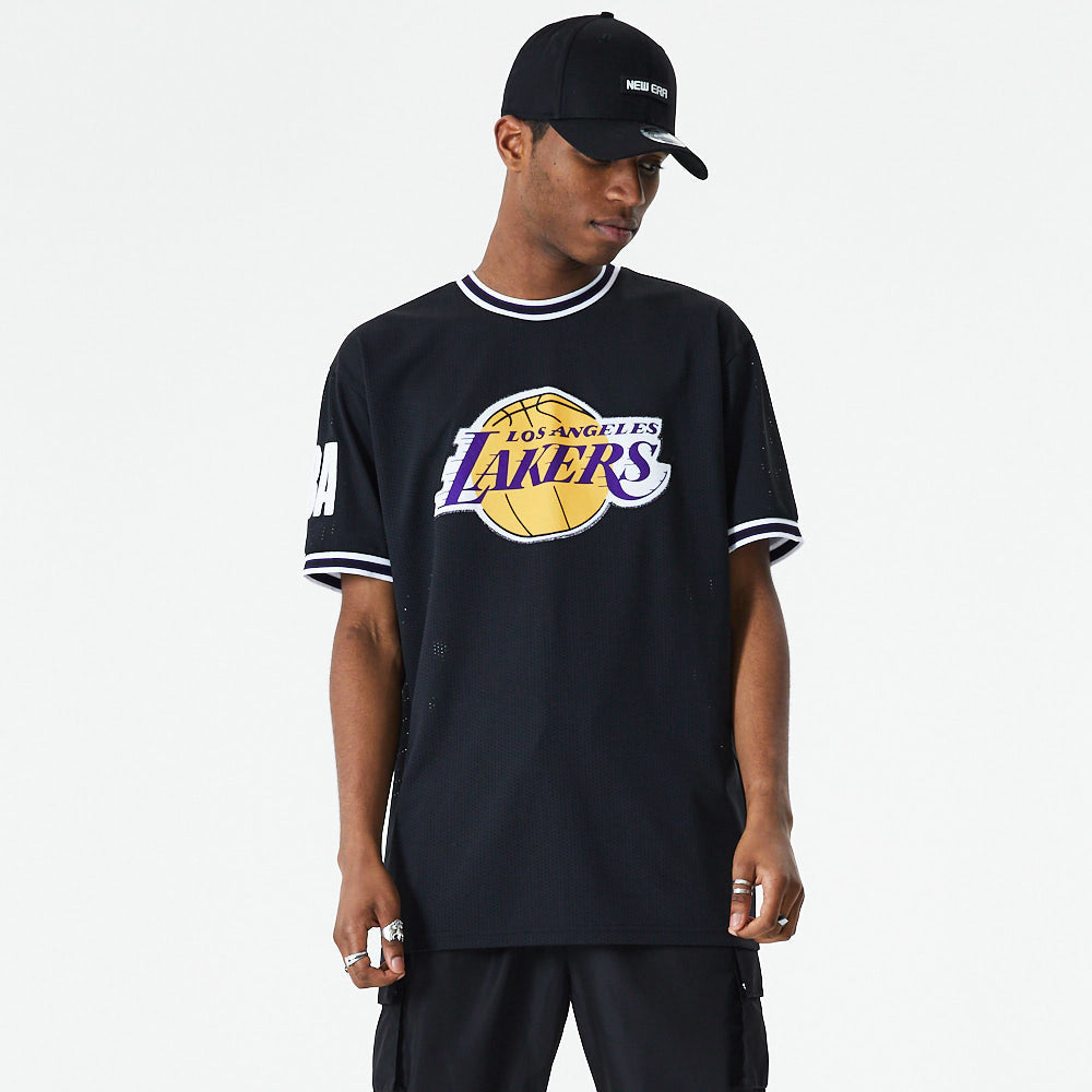 T-shirt NBA Oversize New Era Lakers eighteen