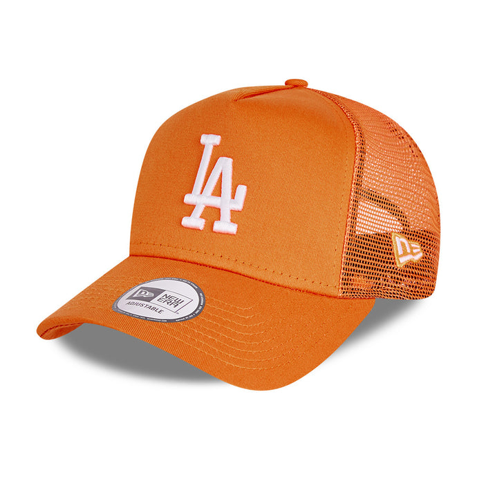Casquette trucker Los Angeles Dodgers orange eighteen clothing
