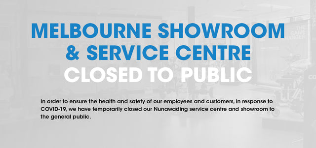 Melbourne Service Centre & Showroom Update