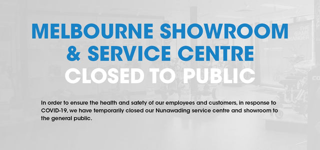 2021 Melbourne Service Centre & Showroom Update