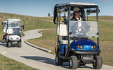 MGI E500 Single Seat Ride on Cart