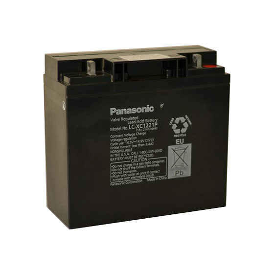 Panasonic 21Ah Battery [bag & leads sold separately]
