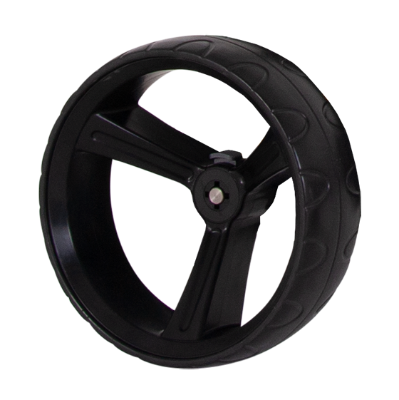 ZIP X1 REAR WHEEL 15MM AXLE - BLACK LEFT