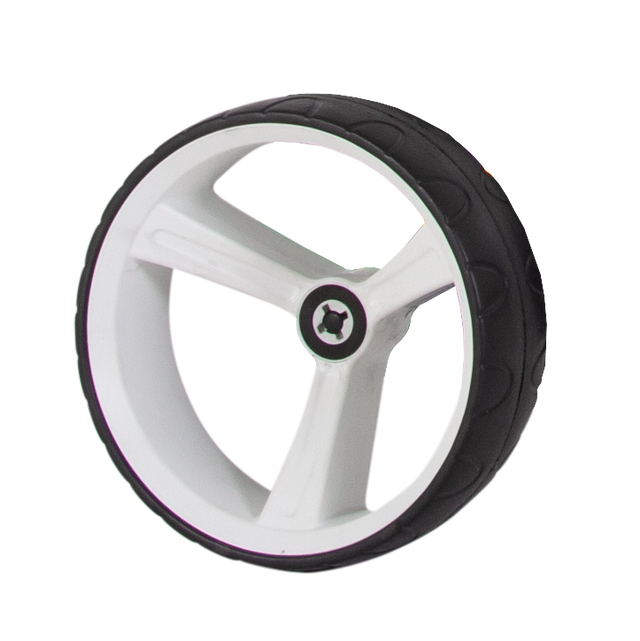 ZIP X1 REAR WHEEL 15MM AXLE - WHITE LEFT