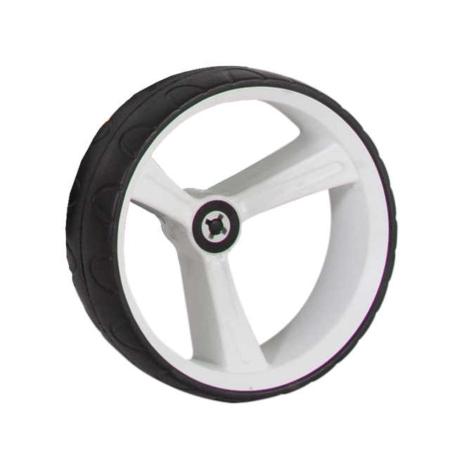 ZIP X1 REAR WHEEL 15MM AXLE - WHITE RIGHT