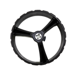 ZIP X3 REAR WHEEL 15MM AXLE - BLACK RIGHT