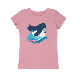 Girls Princess Tee - Swimming Lesson Club USA
