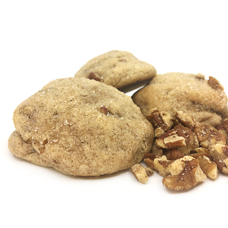 the jimmy, snickerdoodle cooke with toasted pecans