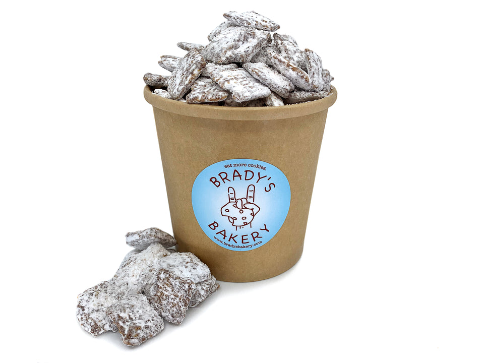 brady's puppy chow (for humans)